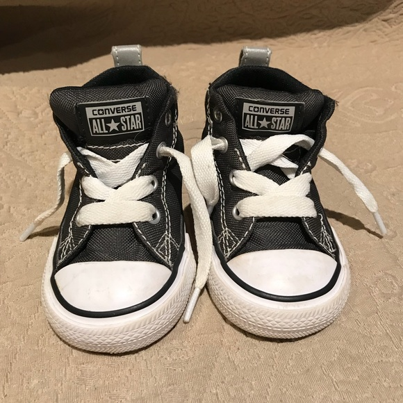 Converse Shoes | Gray Baby Converse